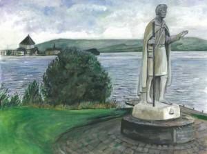 "Lough Derg 40x30cm 15.75""x11.75"" Print £40 Original Painting £200"