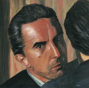 """Portrait of a Man 31x31cm 12.25""""x12.25"""" Print £50 Original Painting Sold"""