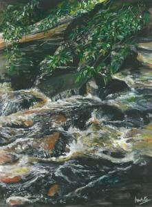 "Cladagh Glen 1 30x40cm 11.75""x15.5""  Print £65 Original Painting £325"