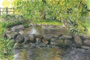 "Holywell 30x20cm 11.75""x7.75""  Print £30 Original Painting £225"